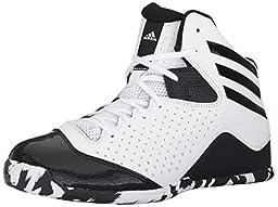 adidas Performance Men\'s Next Level Speed 4 Basketball Shoe,White/Black/White,11 M US