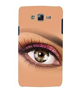 printtech Beautiful Girl Eye Back Case Cover for Samsung Galaxy A7 / Samsung Galaxy A7 A700F