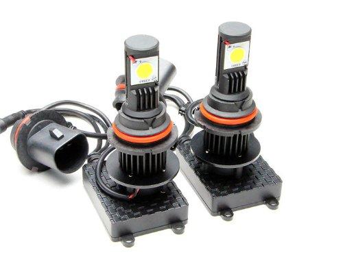 Newsun 9004 Hb1 High Low Beam Led High Power Headlight Led Headlight Kit 5000K Super White 50W Cree 3600Lm Led Headlamp