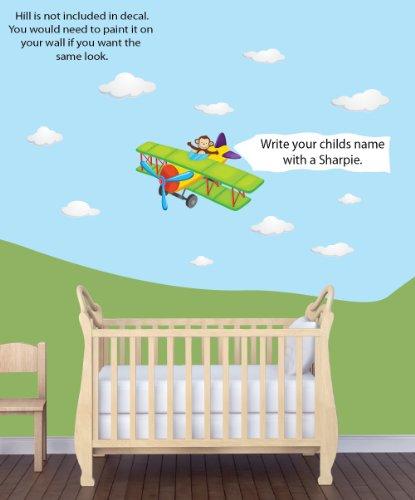 Airplane Decor For Nursery