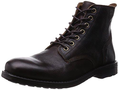 Clarks - Faulkner Rise, Stivali classici da uomo, Marron (Walnut Leather), 43 EU