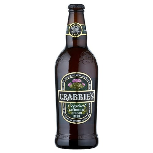 Crabbie's - Alcoholic Ginger Beer - 12x500ml Glass Bottle Case