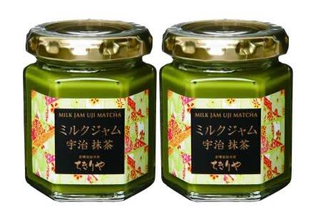 [Tokyo tea and buzzing and] milk jam Uji Matcha green tea (2 pieces box)