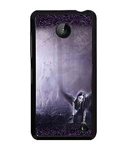 Fuson 2D Printed Girly Designer back case cover for Nokia Lumia 630 - D4152