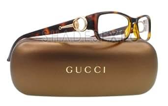 Gucci GG3553 Eyeglasses-0UOO Chocolate Havana-52mm