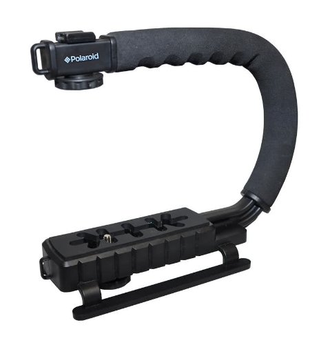 Polaroid Sure-GRIP Professional Camera / Camcorder Action Stabilizing Handle Mount