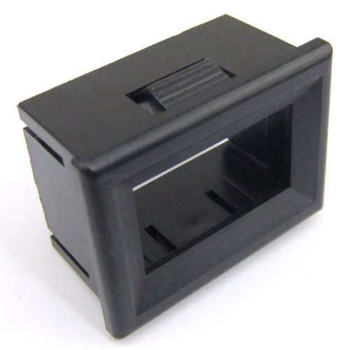 "Drok 5 Pcs/Lot Digital Led Voltmeter Case Plastic Black Shell (0.36"" 3 Digits..."