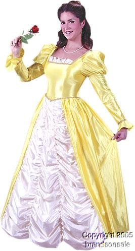 Women's Belle At the Ball Halloween Costume (Size: