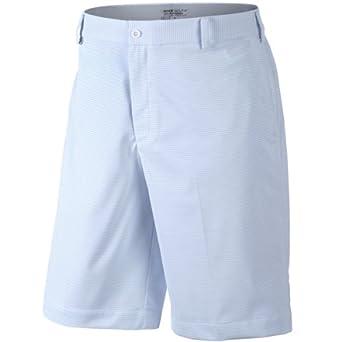 Nike Golf Mens Stripe Short - 36 - White by Nike
