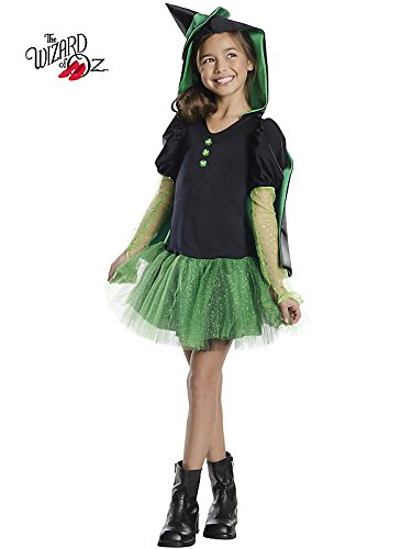 Rubies Wizard of Oz Wicked Witch of The West Hoodie Dress Costume