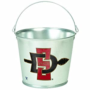 Buy NCAA San Diego State Aztecs 5-Quart Galvanized Pail by WinCraft