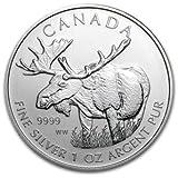 2012 1 Oz Silver Canadian Moose