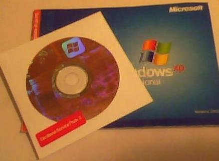 Microsoft Windows XP Professional Service Pack 3, 32-bit for System Builders - 1 Pack Old Version