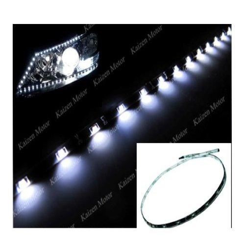 Jtech 2 X 60Cm 30 Smd Premium Quality 335 Led Flexible Stripe Waterproof Xenon White Color Light