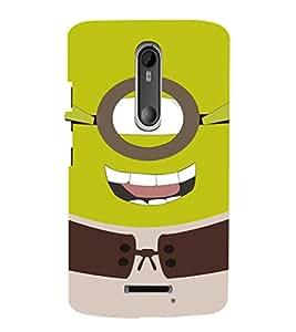 EPICCASE Green Minion Mobile Back Case Cover For Moto X 3rd Gen (Designer Case)