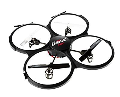 *Latest UDI 818A HD+ RC Quadcopter with HD Camera, Return Home Function and Headless Mode* 2.4GHz 4 CH 6 Axis Gyro RTF Includes BONUS BATTERY + POWER BANK (*Quadruples Flying Time*) - USA TOYZ EXCLUSIVE!!