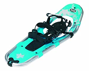 TSL Walk in the Park Snowshoes, Light Blue/White, 25-Inch