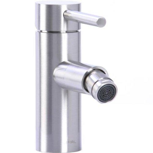 Cifial 221.122.620 Techno Straight Horizontal Spray Bidet Faucet, Satin Nickel