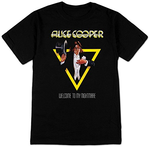 Kumiu Alice Cooper 'Welcome To My Nightmare' Mens T-shirt