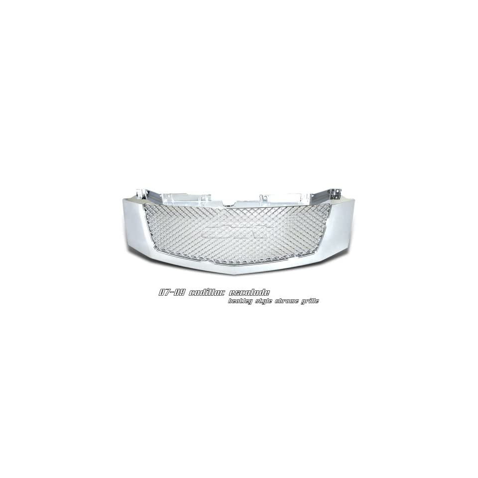 2007 2008 CADILLAC ESCALADE ESV EXT MESH 1PC FRONT GRILLE GRILL