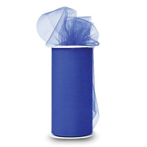 expo-shiny-tulle-spool-of-25-yard-royal-blue