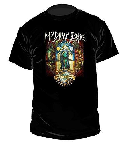 My Dying Bride Misery'illustrazioni luminose la maglietta multicolore Large