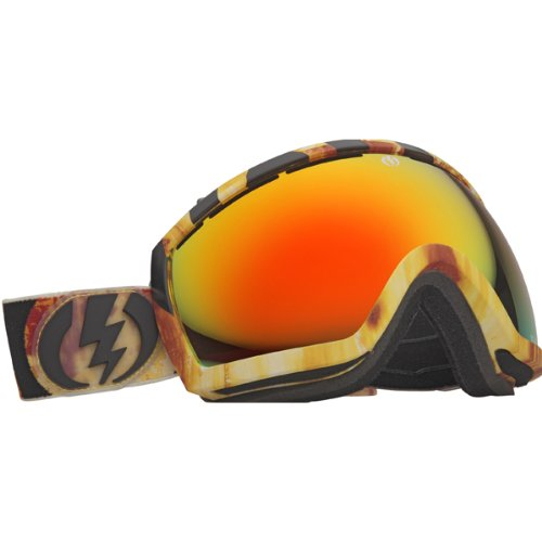 electric visual eg2 snow goggle parker white bronze red