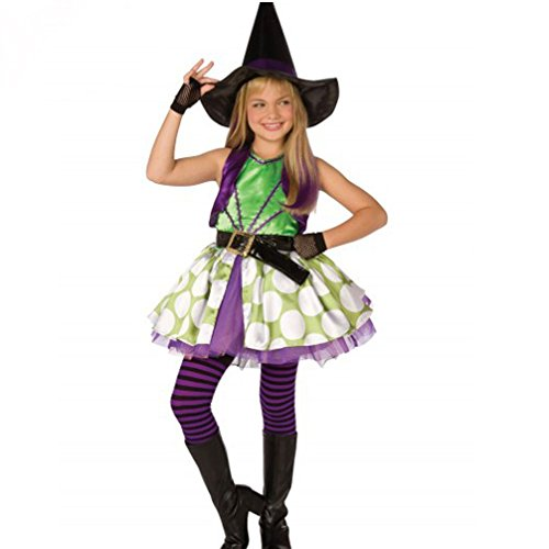 Rose Candy Trens Costumes Kids Halloween Costumes Cosplay Dress Witch