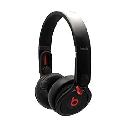 Beats By Dr. Dre Mixr On-Ear Flexible Headband DJ Powerful Headphones Black