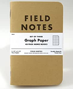 Field Notes Kraft Graph 3-Pack
