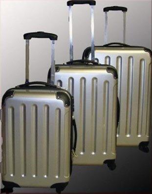 Trolley-Koffer-Set 3-tlg. - Ultra-Light - 4 Rollen