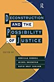 img - for Deconstruction and the Possibility of Justice book / textbook / text book