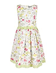 Chicabelle Girls' Dress (CH-10_Multi_10-12 Years)