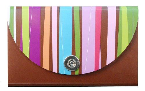 Carolina Pad Hot Chocolate 13-Pocket Coupon Organizer Pixie Sticks Design, 1.25 x 6.75 x 3.75 Inches (15023)