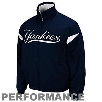 MLB New York Yankees Triple Peak Ladies Jacketidnight White by Majestic