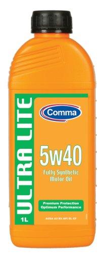 Comma UL1L 1L Ultra Lite Fully Synthetic 5W40 Motor Oil