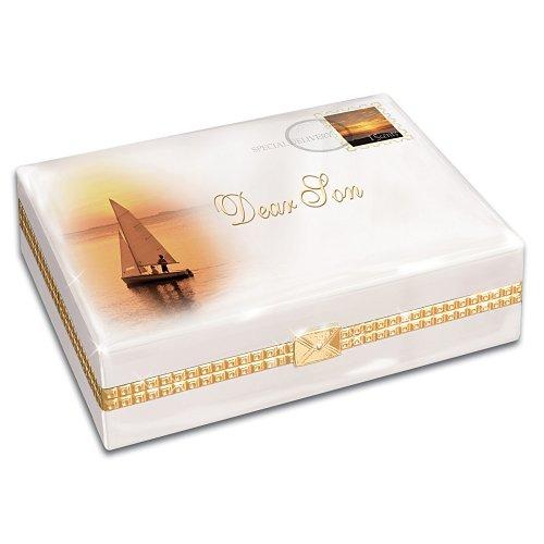 Dear Son Gift Porcelain Music Box by Ardleigh Elliott