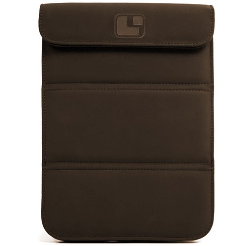 SumacLife Burnett Version Brown Nubuck Wrapper Standing Sleeve Wrapper for Kocaso M752 / M761 / M763 / M750B / M760 7-inch Android Tablets