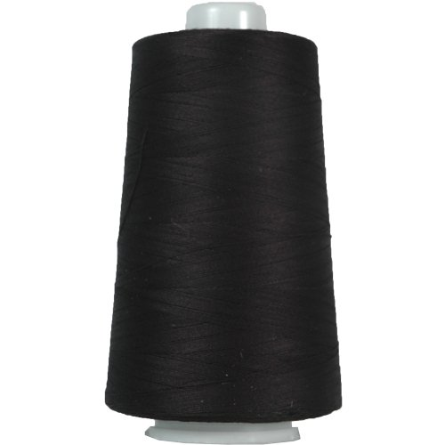 Heavy Duty Cotton Thread 2500 M - 40/3 - Color Black - 17 Colors Available (Serger Cotton Thread compare prices)