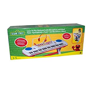 Sesame Street Learn Keyboard Teaching