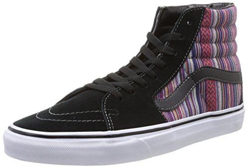 Vans U Sk8-hi Guate Weave, Unisex Adults' Low-Top Sneakers, Multicoloured (guate Weave/black/multi), 10 UK (44.5 EU)