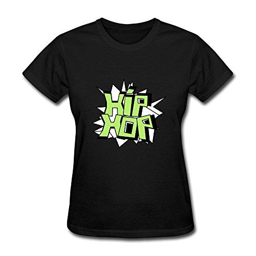 Dingding Women'S Hip Hop Personalised Custom Xx-Large O-Neck Tee Shirt