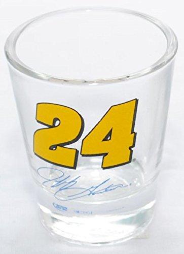 shot-glass-24-nascar-jeff-gordon-with-his-signature