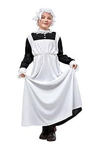 Victorian Maid - Childrens Fancy Dress Costume - Medium - 122cm to 134cm
