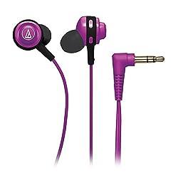 Audio-Technica ATHCOR150PL In-Ear Headphones (Purple)