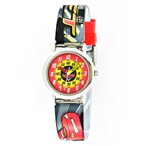 Disney Kids' CRS027T Cars Time Teacher Gift Tin Watch
