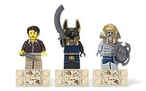 LEGO Pharaohs Quest Set #853168 Magnet Set Jake Raines, Anubis Warrior, Mummy Warrior by LEGO