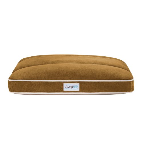 Beautyrest Channel Top Pet Napper Bed, 35 By 44-Inch, Ivory front-948564