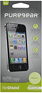 Puregear 60048PG Reshield Screen Film for iPhone 4/4S - Retail Packaging