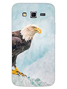 Justgirlythings Eagle - Top Of The Game Hard Back Case Cover For Samsung Grand 2 - Superior Matte Finish